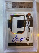 2018-19 National Treasures Lonnie Walker IV RPA Limited Auto /20 BGS 9 w/3 9.5's
