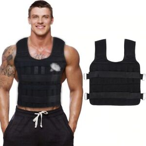 30KG Loading Weight Vest Boxing Train Fitness Equipment Gym Adjustable Waistcoat