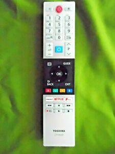 TOSHIBA NETFLIX TV/TEXT REMOTE CONTROL MODEL:CT-8533  EX/CON