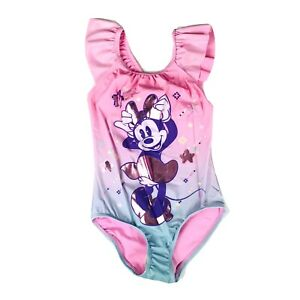 NEW DISNEY BABY GIRLS MINNIE MOUSE SWIMSUIT PINK WHITE WINK 0//3 6//9 MONTH