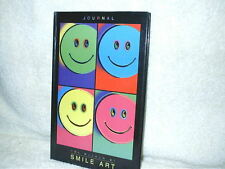1997 Museum Smile Art Journal Day Dream INC.Smiley Faces 50 Unlined Sheets