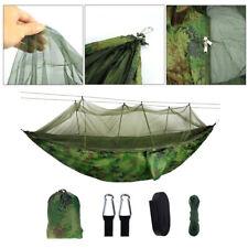 XXL hamaca con mosquitera silla colgante para acampar jardín al aire libre