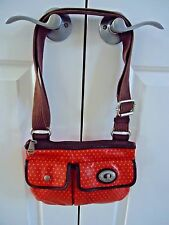 Fossil Key-Per Messenger Cross Body Handbag