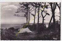 CPSM 76860 QUIBERVILLE SUR MER Camping dans les pins Edit COMBIER