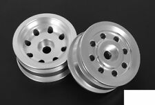 PRO GT Tractor Puller Aluminum Front Wheels RC4WD Z-W0164 SILVER 8 hole bearing