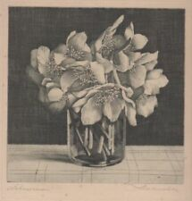 Black Original Modern (1900-79) Date of Creation Art Prints