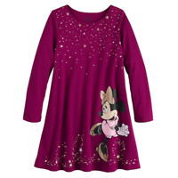 Disney's Minnie Mouse Girls Swing Dress by Jumping Beans, Size 6X, Retail $24.00