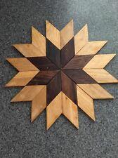 Beautifull Wood Floor Parquet Sun Star Medallion B4