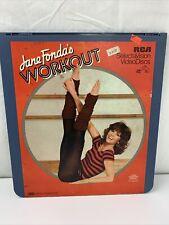 Jane Fonda's Workout CED VideoDisc