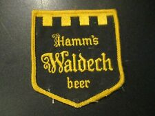 HAMMS BREWING CO vintage logo Waldech PATCH sew on craft beer brewing brewery