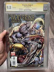 Wolverine: Origins #2 Variant Edition CGC 9.8 Bryan Hitch SS