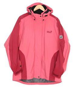 JACK WOLFSKIN TEXAPORE Hooded Mesh Lined Jacket Women Size XL UK 18 MJ2639