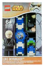 Lego Star Wars Luke Skywalker Watch with Mini Figure 8020356