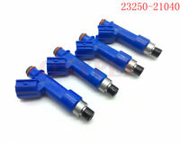 4pcs Denso OEM# 23250-21040 Fuel Injector Nozzle For Toyota Yaris 2006-2016 1.5L