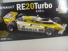 Formel 1 Renault RE 20 Turbo - Italeri Rennwagen Bausatz 1:12 - 4707 #E