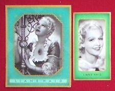 Liane Haid 1936 1937 Bunte Filmbilder Film Stars Cigarette Cards Lot 2