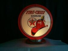 gas pump globe Texaco Fire Chief repro.