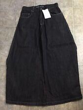 KIKWEAR - Mens Wide Leg Phat Pants Raver Jeans NWOT 32x31