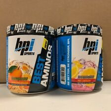 2pk BPI Sports - BEST AMINOS Hurricane Orange & Red Lemonade - EXP:10/2020