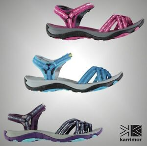 Ladies Karrimor Outdoor Salina Ergonomic Footbed Walking Sandals Sizes UK 3-9