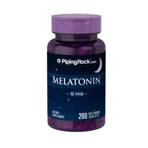 MELATONINA 5 mg - DESCANSAR MÁS Y DORMIR MEJOR - 200 cps
