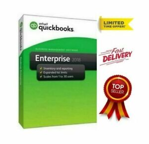 Intuit QuickBooks Desktop Enterprise 2018✔Fast delivery✔70%OFF✔1-30 USER✔