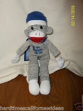 "University of Kentucky UK Superfly Screaming Sock Monkey Plush 12"" Slingshot"