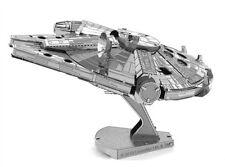 Fascinations Metal Earth 3D Laser Cut Steel Model Kit Star War Milennium Falcon