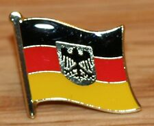GERMANY State Eagle Country Metal Flag Lapel Pin Badge