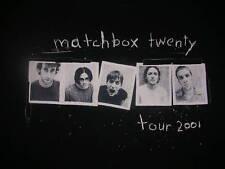 2001 MATCHBOX TWENTY FLORIDA ROCK BAND TOUR SHIRT