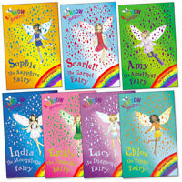 Rainbow Magic Jewel Fairies Collection Daisy Meadows 7 Books Set Pack Brand New