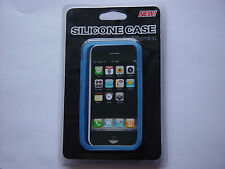 Light Blue Color Soft Silicone Skin Case Cover for Apple iphone 3 , 3G , 3GS