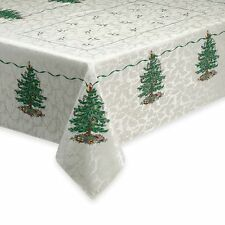 SPODE IVORY CLASSIC CHRISTMAS TREE HOLIDAY TABLE CLOTH 60 X 102 ORG $80.00 BNWT