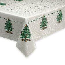 SPODE CLASSIC CHRISTMAS TREE HOLIDAY TABLE CLOTH 60 X 102 ORG $80.00 BNWT