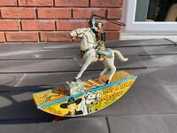 Antique Marx Toys Hop Along Cassidy Cowboy With Lasso - Fully Working & RARE