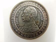 1906 VBP GI Denmark 2 Kroner, Herren Vaere Min Hiaelper, Silver 80%,  #B40