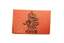 HOLLAND  KNVB Logo FIFA WORLD CUP ORANGE EMBROIDERED IRON-ON PATCH CREST BADGE
