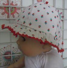 chapeau de soleil BOUT'CHOU fille 6 mois tour de tête 43 cm