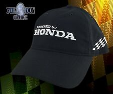 New Honda Power Racing Black Adjustable Mens Cap Hat