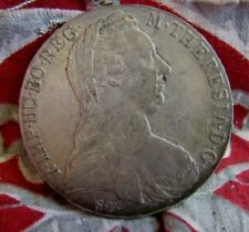 piece monnaie ancienne marie therese theresia autriche 1780 argent 4cm 25.3gr