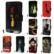 Horror Movies Design Flip Phone Case Cover Wallet - Fits Iphone 6 7 8 X 11