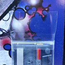 Cassette Case Sleeves / Vertical / Resealable / 100 pc / Music Tape