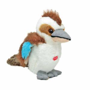 "Kookaburra with sound Large soft plush toy 9""/23cm Aussie Born by Elka NEW"