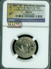 2019-W GUAM WAR IN PACIFIC QUARTER NGC MS-67 PQ MAC SPOTLESS RARE .