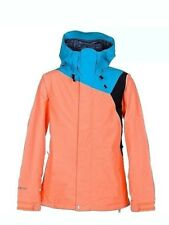 VOLCOM Women's TOWER GORE-TEX Hooded Snow Ski Jacket Snowboard Small