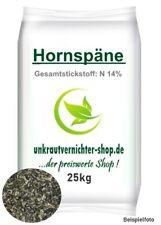 25 kg Hornspäne Horndünger Naturdünger biologischer Landbau Garten Gemüse Blumen