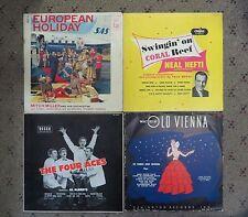 """12 10"""" Vinyl 33 rpm Morton Gould Mitch Miller Waltzes Four Aces Capitol"""