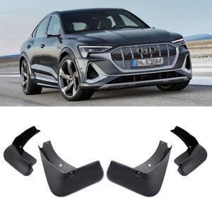 4 Mud Flaps Splash Guard Fender Car Mudguard for Audi e-tron Sportback 2020-2021