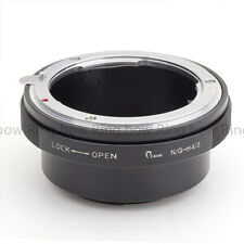 Lens Adapter Suit For Nikon F Mount G Lens to Micro Four Thirds 4/3 Camera