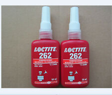 New LOCTITE 262 High Strength Thread Locker 50ml * 1pcs